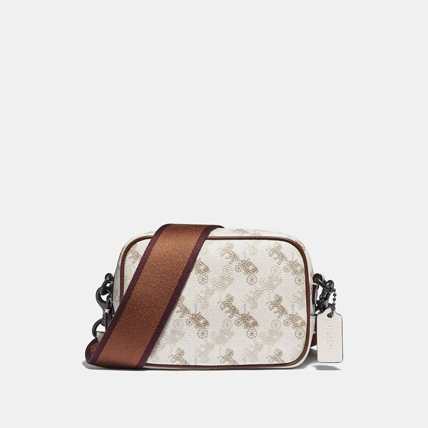 Camera Bag 16 With Horse And Carriage Print