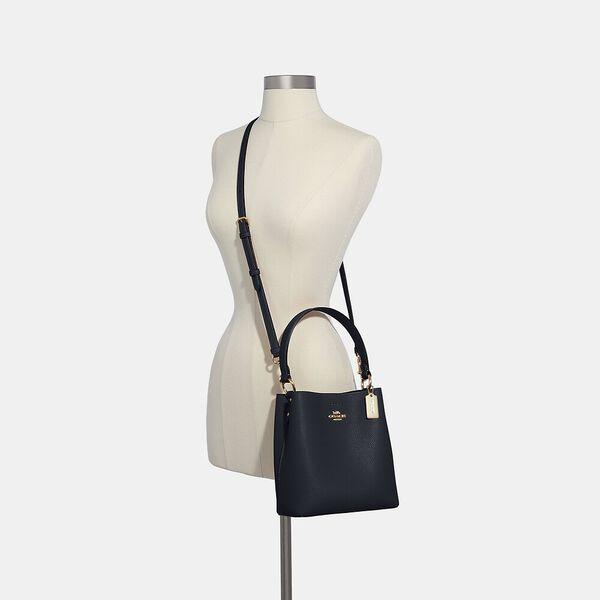 Small Town Bucket Bag, IM/MIDNIGHT OXBLOOD, hi-res