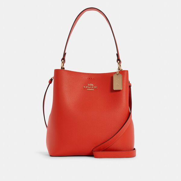 Town Bucket Bag, IM/MANGO/WINE, hi-res