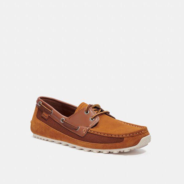 Boat Shoe, GOLDEN BROWN, hi-res