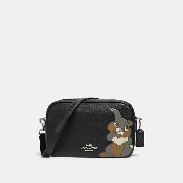 Disney X Coach Jes Crossbody In Signature Canvas With Thumper
