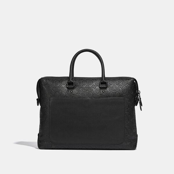 Gotham Brief In Signature Leather, JI/BLACK, hi-res