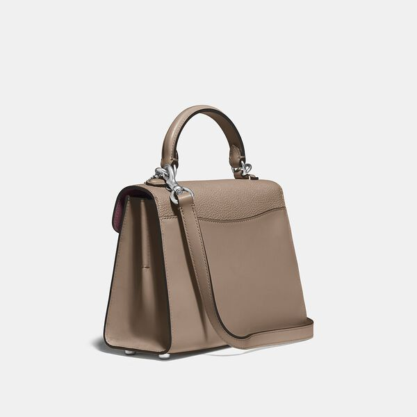 Tabby Top Handle 20, LH/TAUPE, hi-res