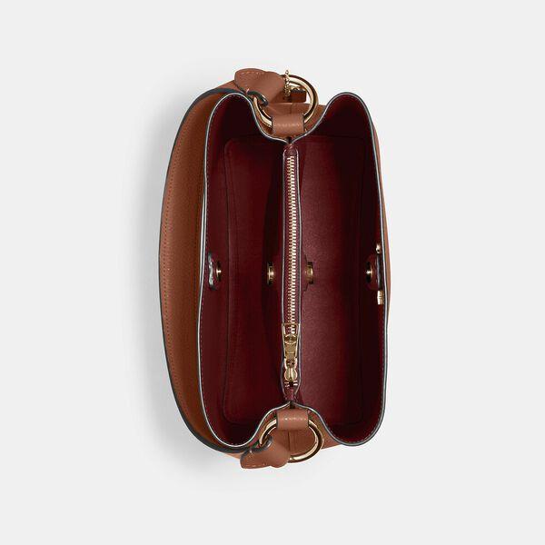 Town Bucket Bag, IM/REDWOOD/1941 RED, hi-res