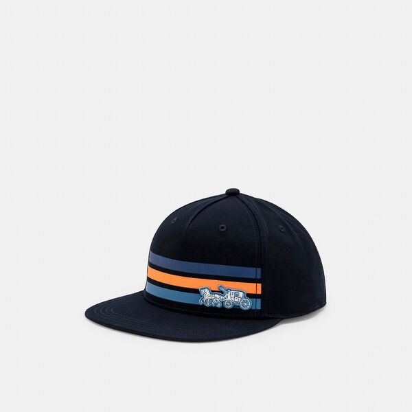Horse And Carriage Brim Hat, NAVY, hi-res