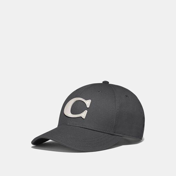 Varsity C Cap, CHARCOAL, hi-res
