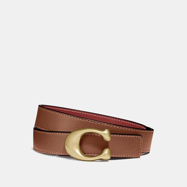 Sculpted Signature Reversible Belt