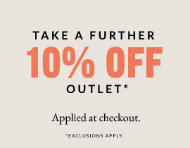 40% off plus an extra 10% off outlet